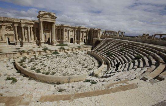 Palmira era uma cidade-oásis no deserto sírio