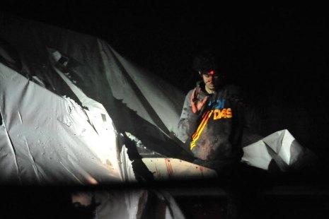 Dzhokhar Tsarnaev no momento de sua prisão